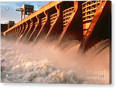 Mcnary Dam Acrylic Print by DOE/Science Source