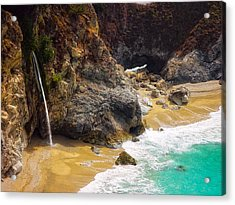 Mcway Falls California Acrylic Print by Utah Images
