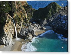 Acrylic Print featuring the photograph Mcway Falls by Lynn Bauer