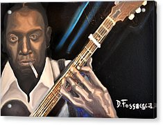 Me And The Devil Blues-robert Johnson Acrylic Print