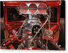 Acrylic Print featuring the photograph Mechanicals 101 The Go Part by Bill Dutting