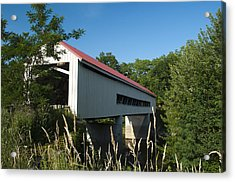 Mechanicsville Road Bridge Acrylic Print