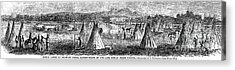 Medicine Lodge Creek, 1867 Acrylic Print by Granger