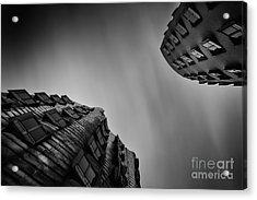 Medienhafen Acrylic Print by Geoffrey Gilson