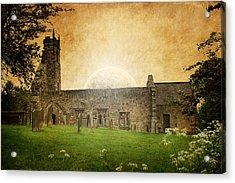 Medieval Church Acrylic Print by Svetlana Sewell