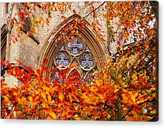 Medieval Firewall Today Acrylic Print by Duncan Nelson