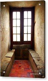 Medieval Window Acrylic Print by Carlos Caetano
