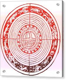 Medieval Zodiac Acrylic Print by Science Source
