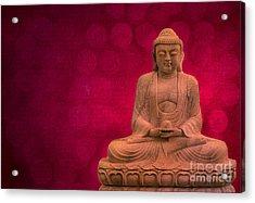 Meditation Acrylic Print by Hannes Cmarits