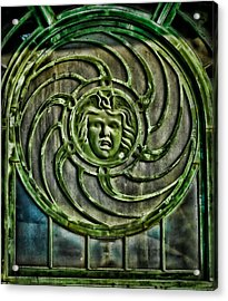 Medusa Acrylic Print by Colleen Kammerer