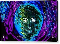 Medusa's Ghost Acrylic Print by Seth Weaver