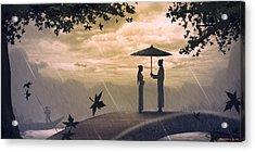 Meet Acrylic Print by Hiroshi Shih