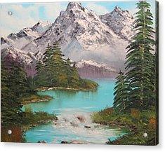 Meet Me At The River Acrylic Print