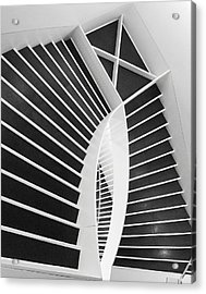 Meet Me Under The Stairs Acrylic Print by Anna Villarreal Garbis