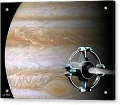 Meeting Jupiter Acrylic Print