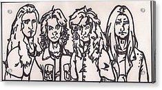 Megadeth Acrylic Print