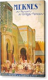 Meknes Morocco Acrylic Print