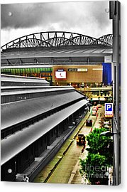 Acrylic Print featuring the photograph Melbourne Docklands by Blair Stuart