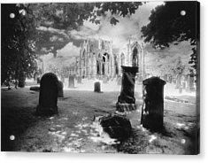 Melrose Abbey Acrylic Print
