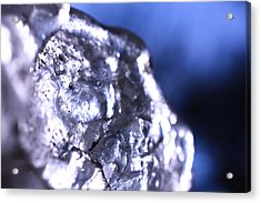 Melted Glass 2 Acrylic Print by Will Czarnik
