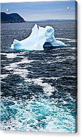 Melting Iceberg Acrylic Print by Elena Elisseeva