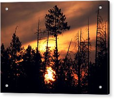 Melting Skies Acrylic Print