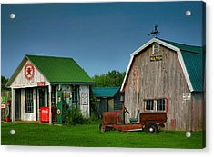 Mementos From The Past I Acrylic Print by Steven Ainsworth