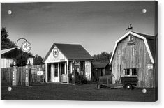 Mementos From The Past II Acrylic Print by Steven Ainsworth