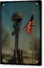 Memorial Acrylic Print by Brady D Hebert