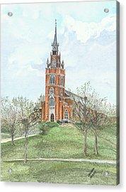 Memorial Chapel  Acrylic Print