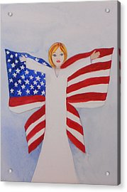 Memorial Day For Those Who Sacrificed Acrylic Print by DJ Bates