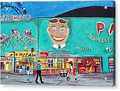 Memories Of Asbury Park  Nj  Acrylic Print
