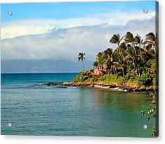 Memories Of Maui Acrylic Print by Lynn Bauer
