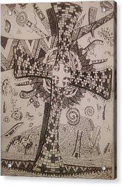 Memories Of The Homeland Acrylic Print by Branko Jovanovic