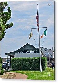 Memory Motel Acrylic Print