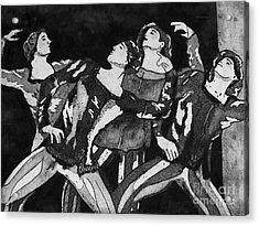Men In Tights Acrylic Print