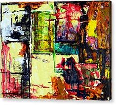 Mental Slum Acrylic Print