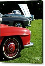 Mercedes 300 Sl Acrylic Print by Peter Piatt
