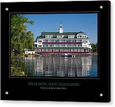 Meredith Inn Acrylic Print by Jim McDonald Photography