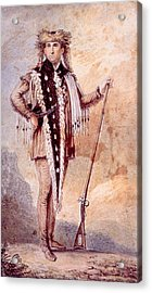 Meriwether Lewis 1774-1809, Co-leader Acrylic Print by Everett