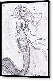 Mermaid Aiesy Acrylic Print