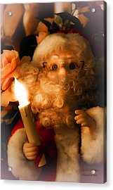 Acrylic Print featuring the photograph Merry Christmas by Itzhak Richter