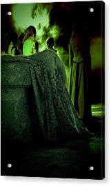 Merry Meet Green Acrylic Print
