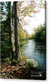 Mersey River Acrylic Print by Frank Townsley