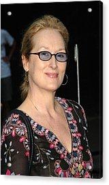 Meryl Streep At Arrivals For The 2006 Acrylic Print by Everett