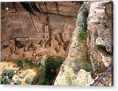 Mesa Verde One Acrylic Print by Louis Nugent