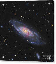 Messier 106, A Spiral Galaxy With An Acrylic Print by R Jay GaBany