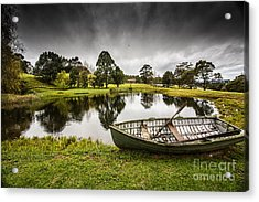 Messing About In A Boat Acrylic Print by Avalon Fine Art Photography