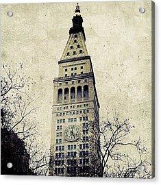 Met Life Tower Acrylic Print