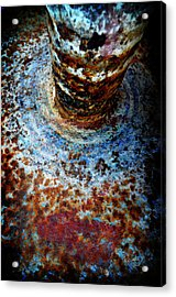 Acrylic Print featuring the photograph Metallic Fluid by Pedro Cardona